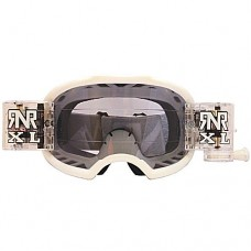 Colossus MX XL White Goggles