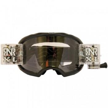 Colossus MX XL Black Goggles