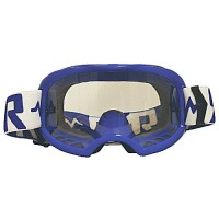 Colossus Tear Off MX Blue Goggles