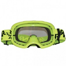 Colossus Tear Off MX Neon Yellow Goggles