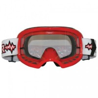 Colossus Tear Off MX Red Goggles