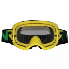Colossus Tear Off MX Yellow Goggles