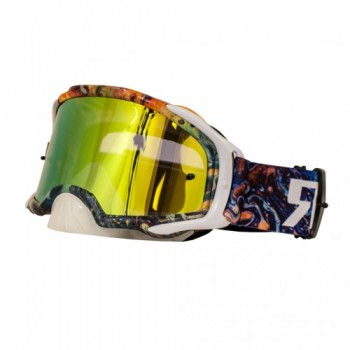 Platinum MX Mirror Oil Slick Goggle