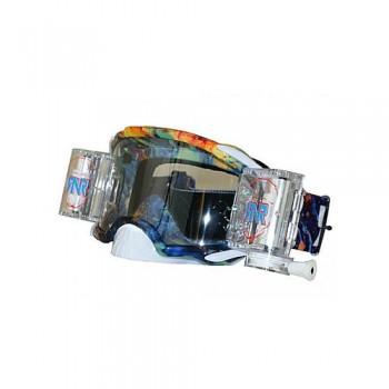 Platinum MX Wide Vision System Oil Slick Goggle