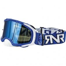 Platinum MX Mirror Blue Goggle