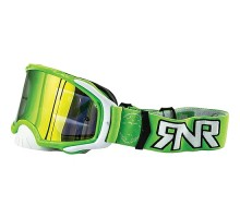 Platinum MX Mirror Green Goggle