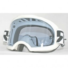 Colossus Tear Off MX White Goggles