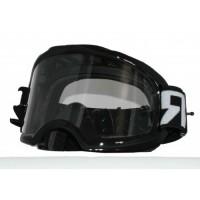 Colossus Tear Off MX Black Goggles
