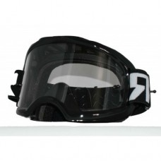 Colossus Tear Off MX Black Goggles